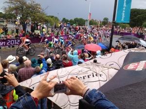 The Women's Olympic Road Race near Hampton Court